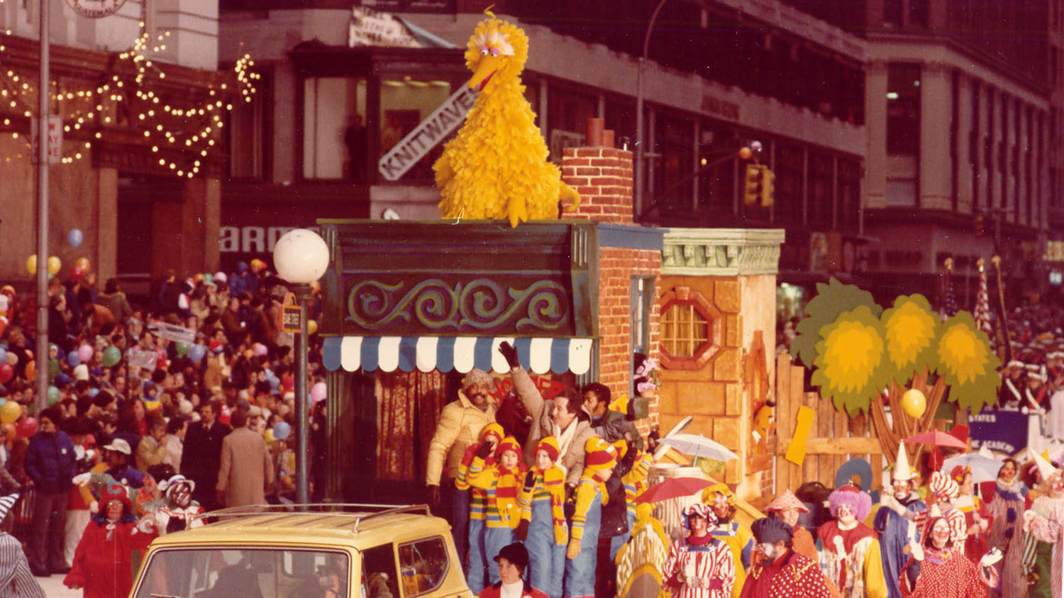 Sesame Street float, 1978