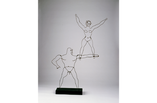 (Alexander Calder: 'Two Acrobats', 1929. © Calder Foundation New York/DACS London)