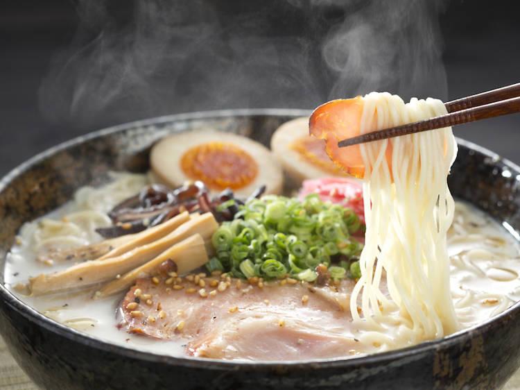 Comer y sudar a la japonesa