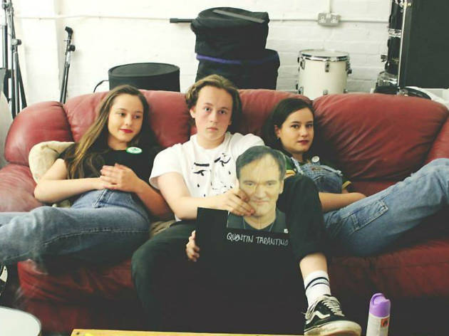 Group shot of The Orielles