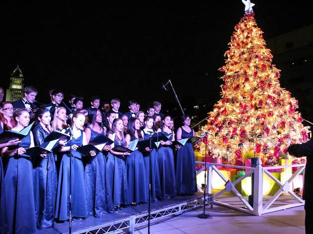 LA County Christmas Tree Lighting Ceremony