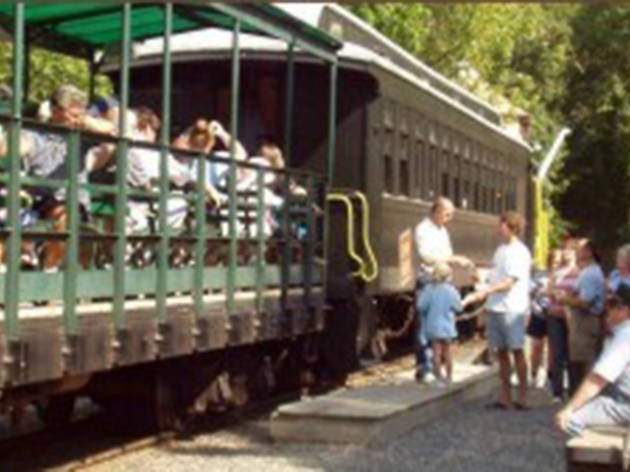 The New Jersey Museum of Transportation Christmas Express