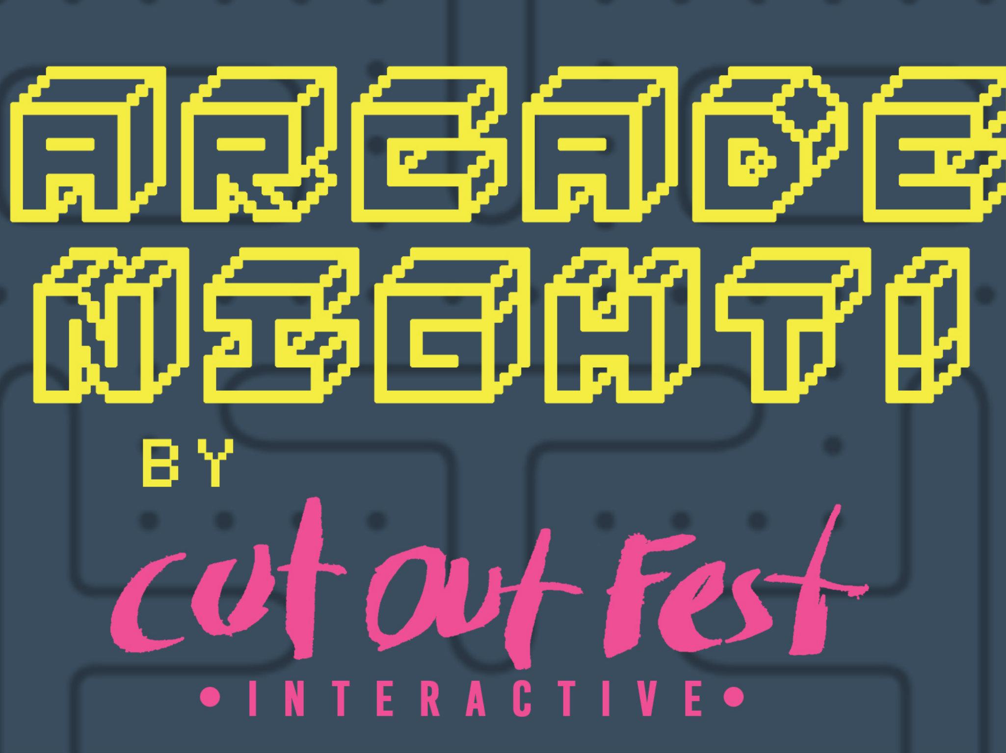 Arcade Night en CutOut Fest