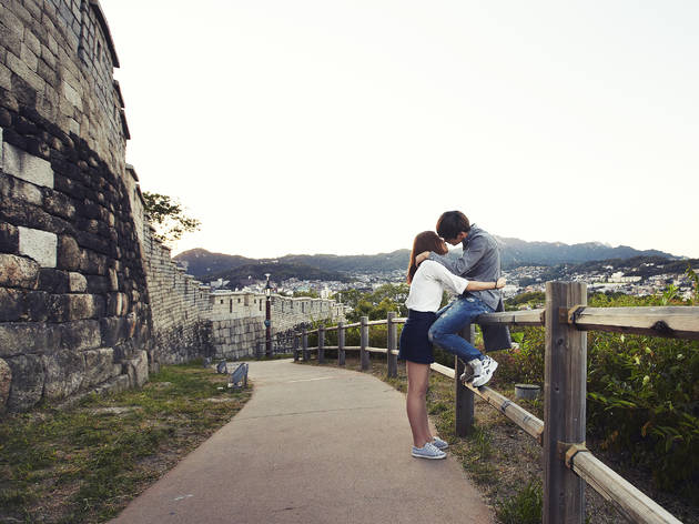 Seoul's best first-kiss location