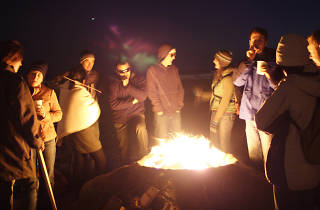 Where to have a beach bonfire in the San Francisco Bay Area