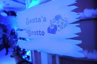 Santas grotto sign