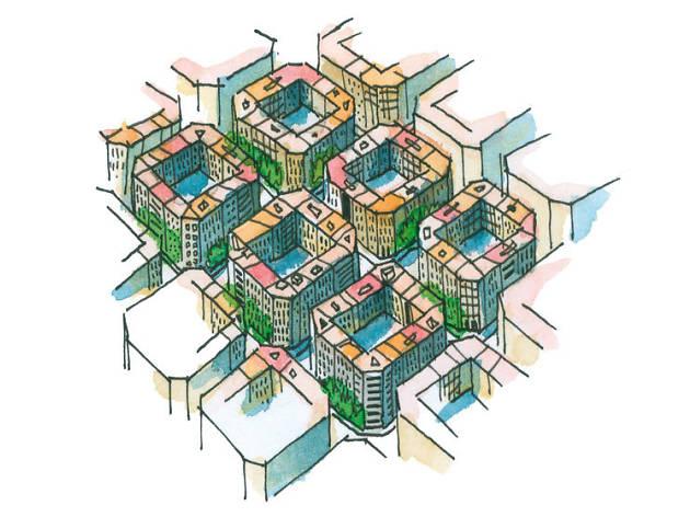 L'Eixample, la forma de la ciutat