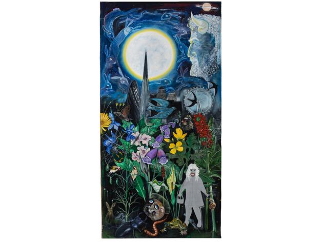 (David Harrison: 'Flowers of Evil, The Congregation', 2015. © David Harrison, courtesy Victoria Miro Gallery)