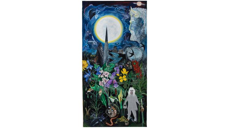 David Harrison: 'Flowers of Evil, The Congregation', 2015. © David Harrison, courtesy Victoria Miro Gallery
