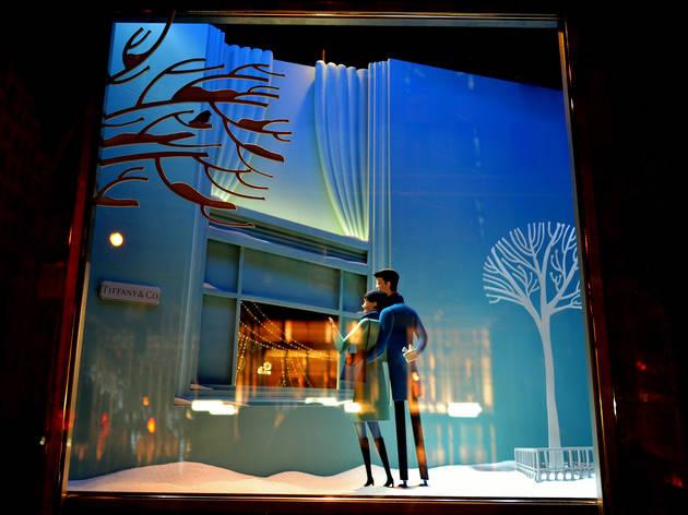 Tiffany & Co. holiday windows
