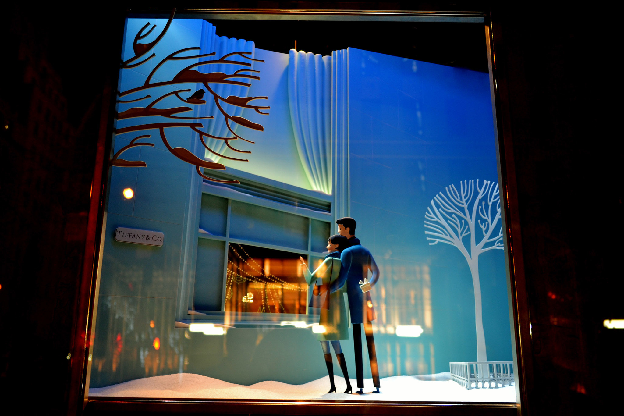 Tiffany & Co. holiday windows