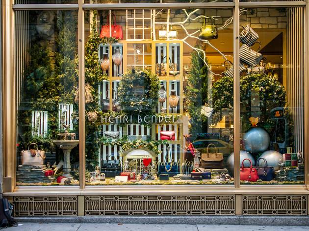 Henri Bendel holiday windows