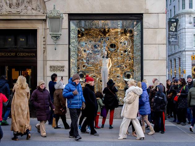 Bergdorf Goodman holiday windows