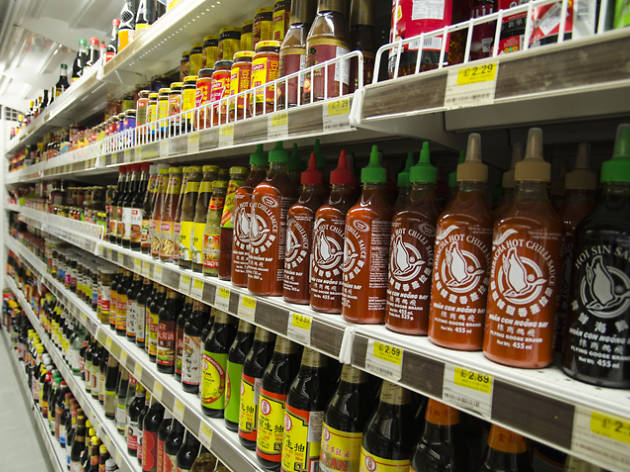 H mart Korean supermarket, New Malden