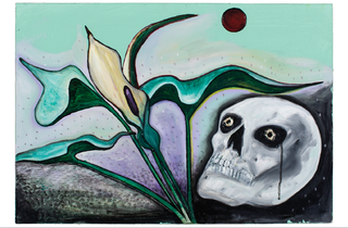 (David Harrison: Flowers of Evil, Parson in the Pulpit', 2014. © David Harrison, courtesy Victoria Miro Gallery)