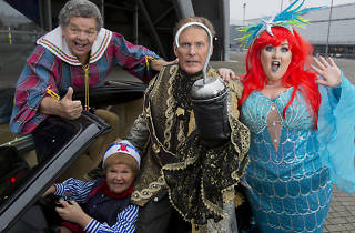 Peter Pan The Krankies and David Hasselhoff- Panto launch SECC