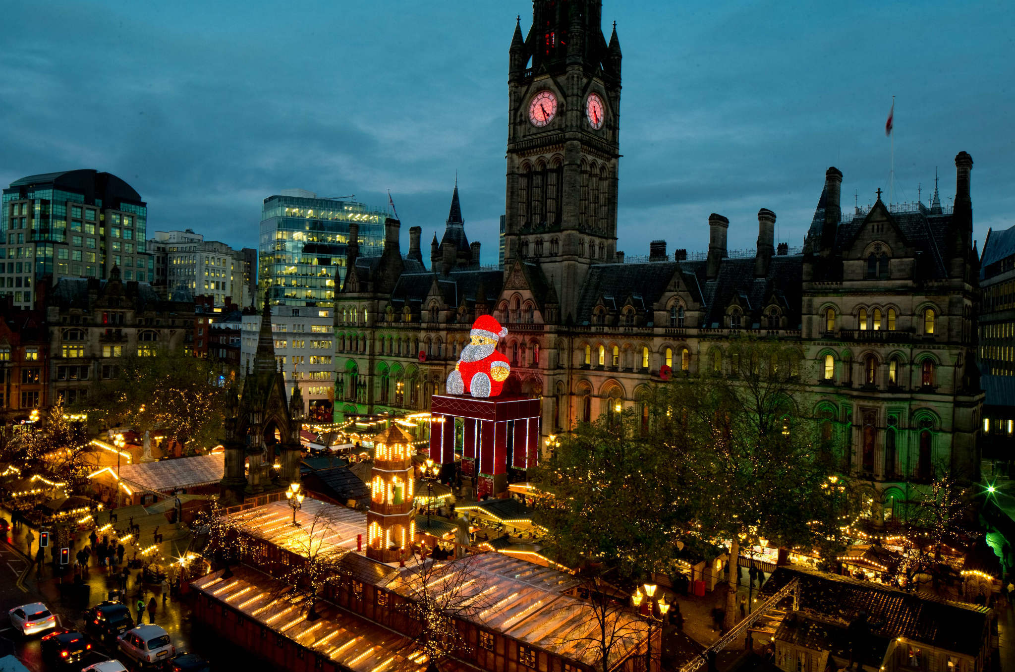 Albert Square Christmas Market
