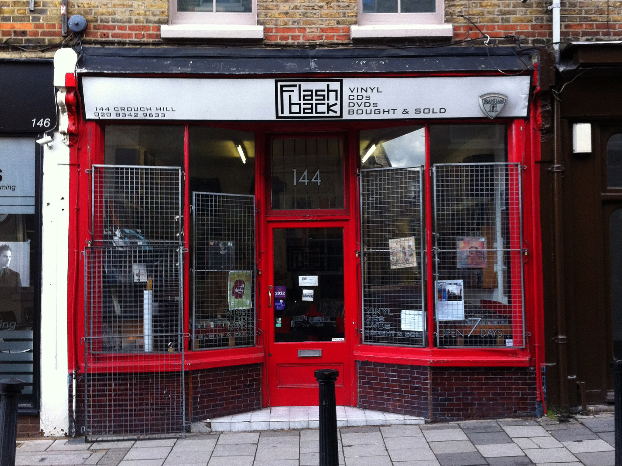 Flashback Records, Crouch End