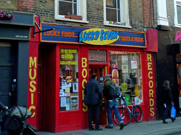 Stoke Newington record shop Lucky Seven up for sale