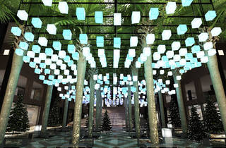 Brookfield's Winter Garden will be lit for the holidays with high-tech illumination