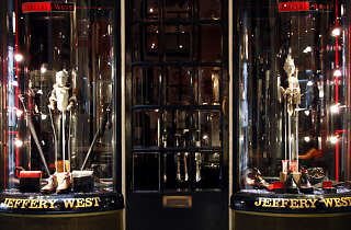 Jeffery-West, shop, Piccadilly 2015