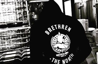 man in northern monk hoodie