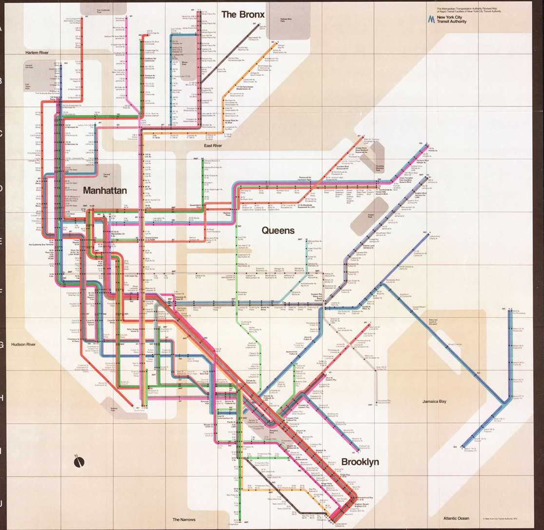 Nyc Subway Map 2000.Check Out These Cool Alternative Versions Of The Classic Mta Subway Map