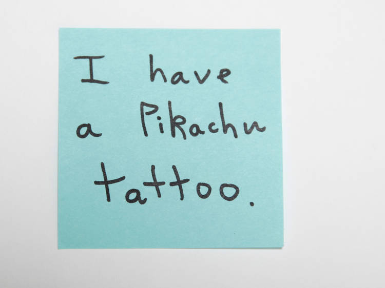 Sticky-note confessions: New Yorkers share their nerdiest secrets