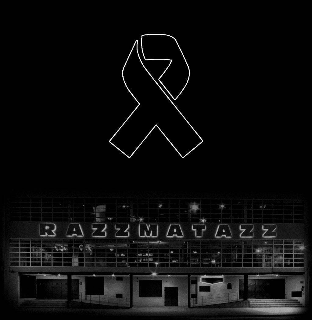 Sala Razzmatazz: condol davant dels atemptats de París