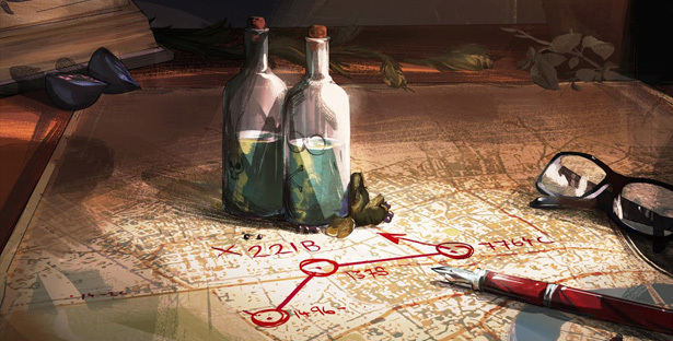'Moriarty's Game'- a Sherlock Holmes inspired cryptic trail