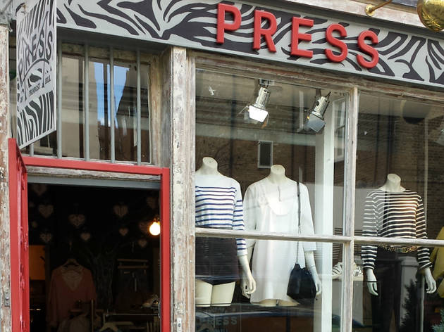 Press clothing Primrose Hill 2015