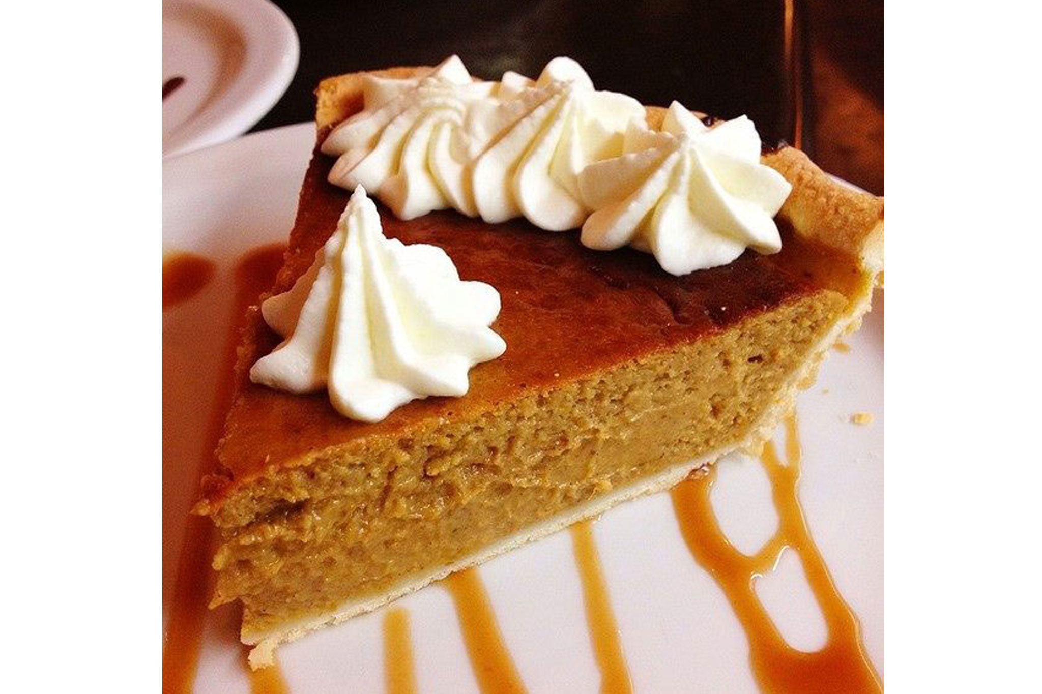 Pumpkin pie at Republic of Pie.