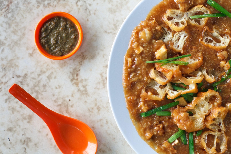 Teochew fried porridge