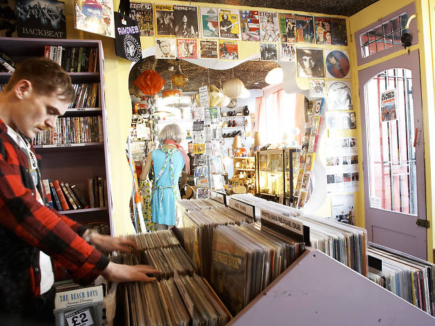 Casbah Records Shopping In Greenwich London