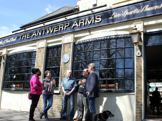 Antwerp Arms pub Tottenham 2015