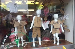 FARA Kids charity shop Pimlico 2015