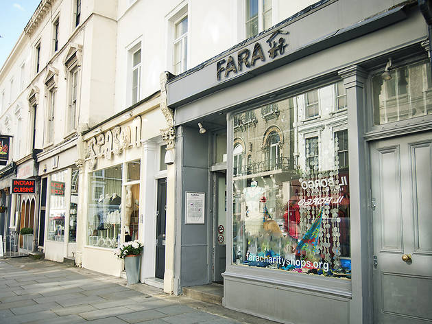 FARA charity shop Kensington 2015