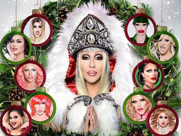 Chad Michaels' All-Star Christmas Cher