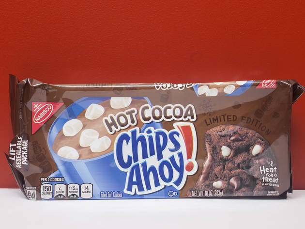 Chips Ahoy! hot cocoa cookies
