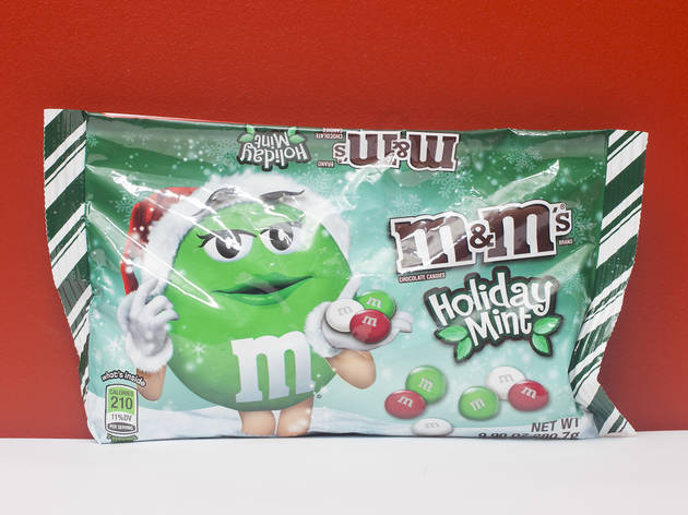 Holiday Mint M&Ms