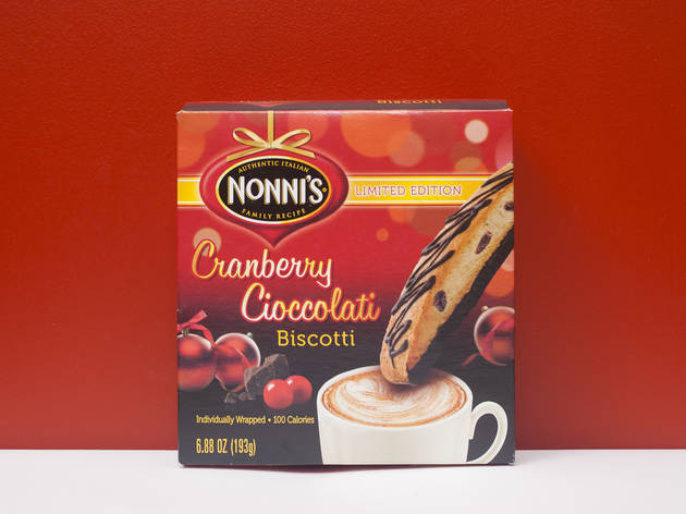 Nonni's cranberry chocolate biscotti