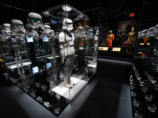 STAR WARS and the Power of Costume Exhibition at Discovery Times Square