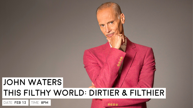 Get gross with John Waters