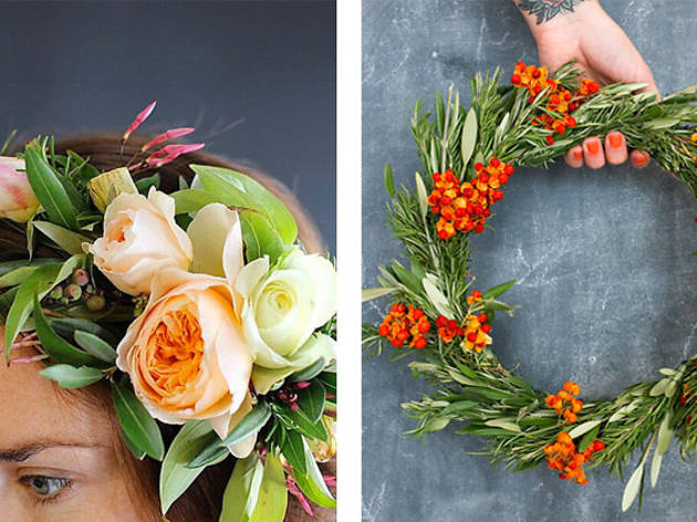 Holiday Wreath & Flower Crown Workshop