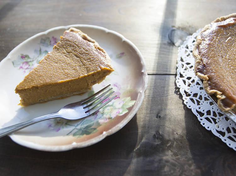 Pumpkin pie from Baked