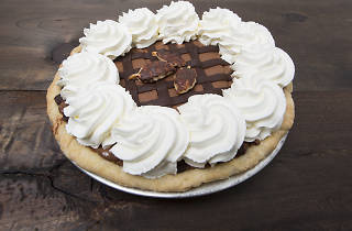 Chocolate mousse pie from the Blue Stove