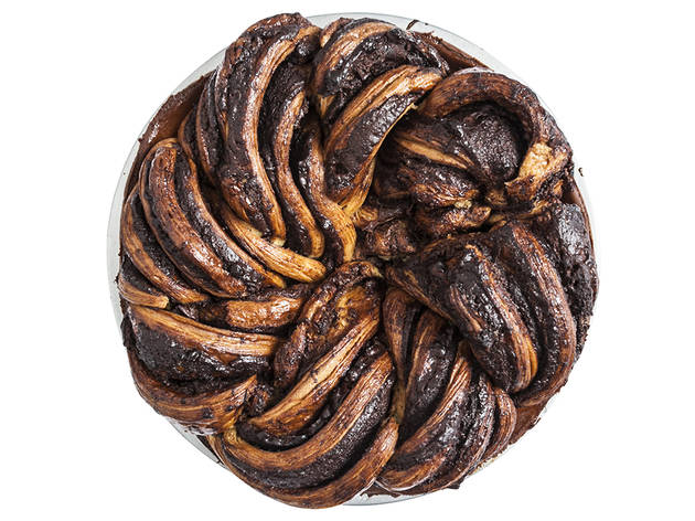 Babka pie from Breads Bakery