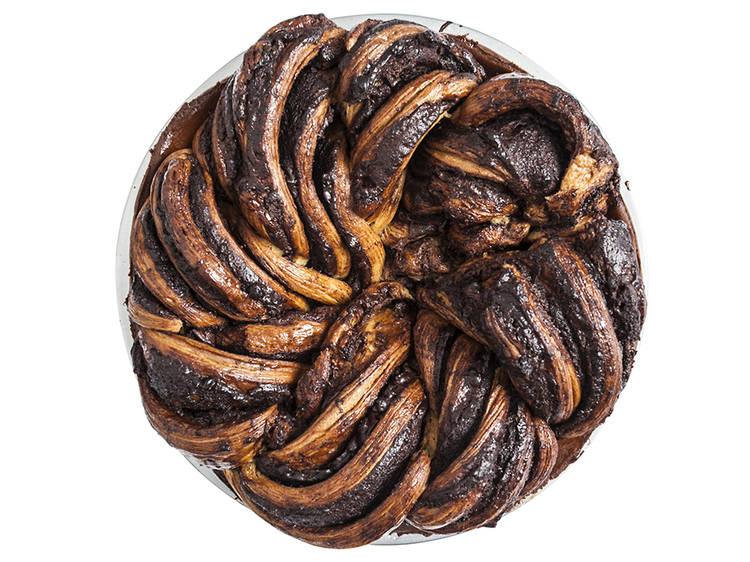 Babka pie from Breads Bakery