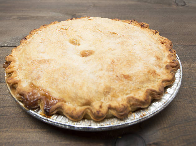 Classic apple pie from Bubby's