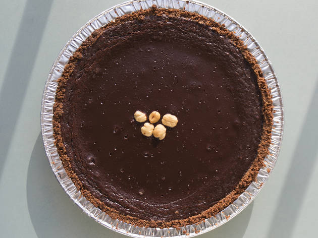 Chocolate hazelnut pie from Pie Corps